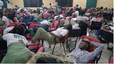 NYSC members ar Rivers election 2