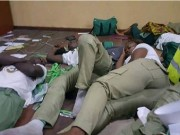 NYSC members at Rivers election 1