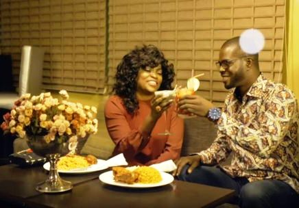 Funke Akindele with new hubby