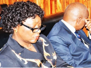 Justice Ademola with wife