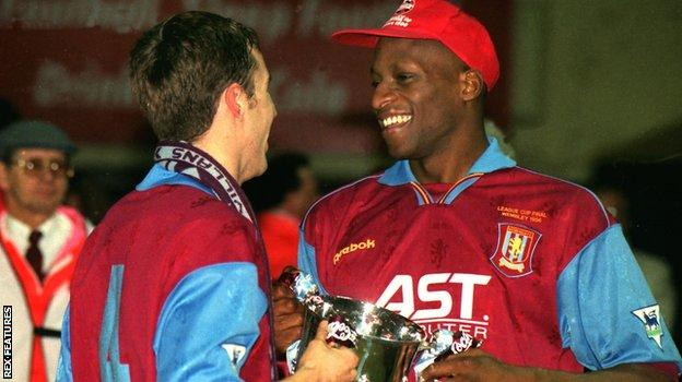 Ehiogu with Southgate