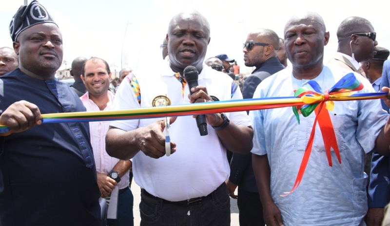 Ambode commissions Abule Egba bridge
