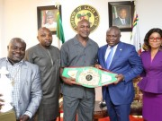 Ambode with Holyfield
