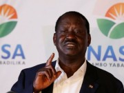 Kenya opposition leader Odinga