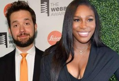 Serena with hubby