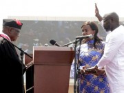 Weah sworn in as president