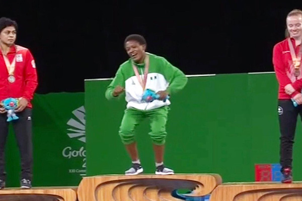 Adekuoroye wins gold
