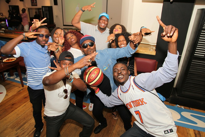 Guests at the NBA Game in Africa 1